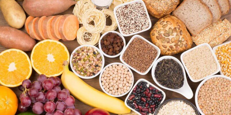 Quais os alimentos que têm carboidratos?