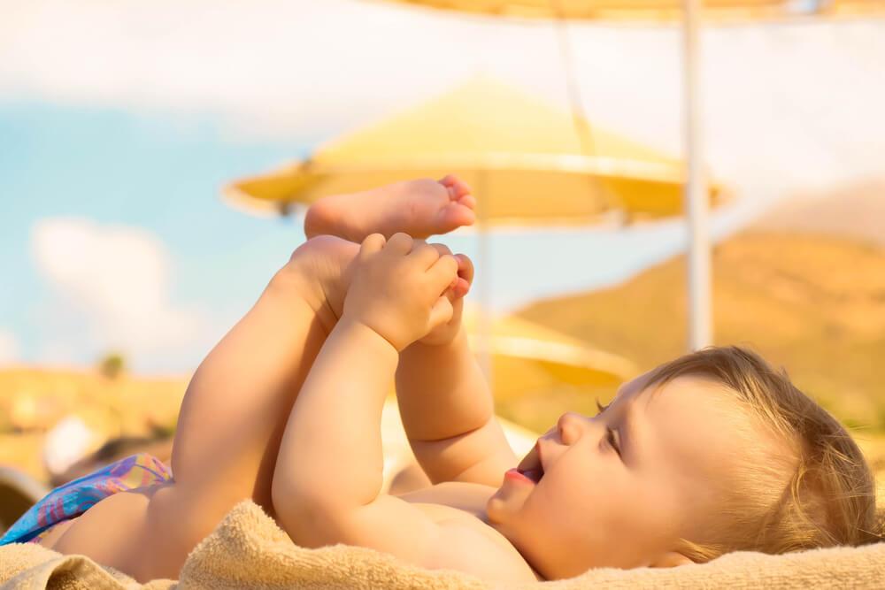 sinais de desidratação em bebês