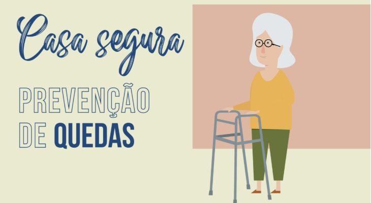 casa segura para promover a prevenção de quedas em idosos